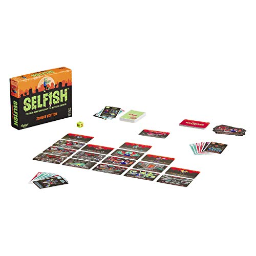 Ridley's Games- Selfish: Zombie Edition Game Juego de Cartas de Estrategia, Multicolor (GME028)