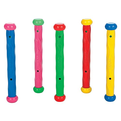 Intex 55504 - Conjunto juego acuático 5 sticks , color/modelo surtido