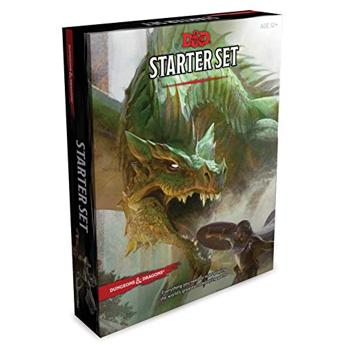 Wizards Of The Coast: Dungeons & Dragons Starter Box: Fantasy Roleplaying Game Starter Set
