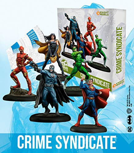 Knight Models Juego de Mesa - Miniaturas Resina DC Comics Superheroe - Batman Crime Syndicate