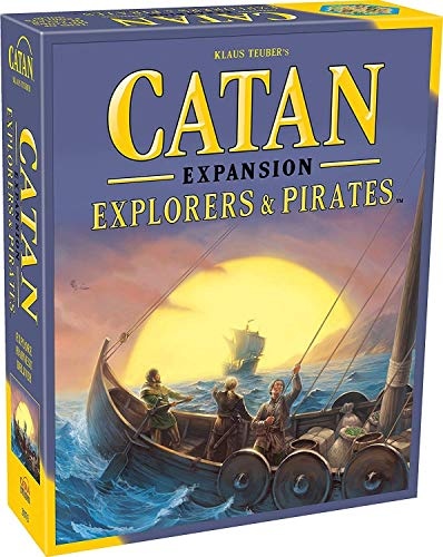 Mayfair Games Catan Expansion Explorers and Pirates Board Game