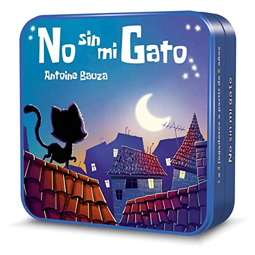 Cocktail Games-No sin mi Gato, Multicolor (Asmodee 1)