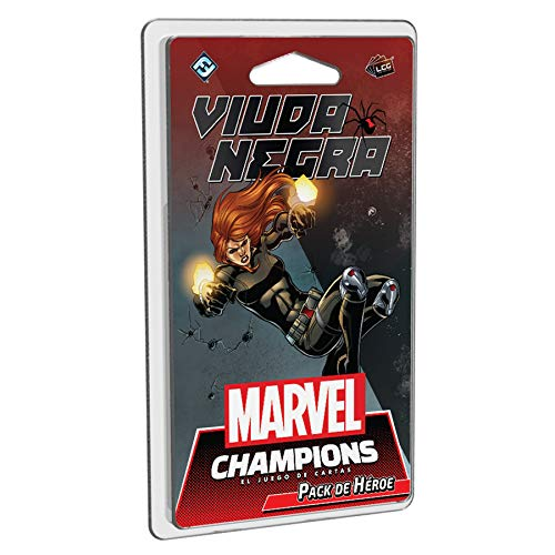 Fantasy Flight Games- Marvel Champions - Viuda Negra, Color (MC07ES)