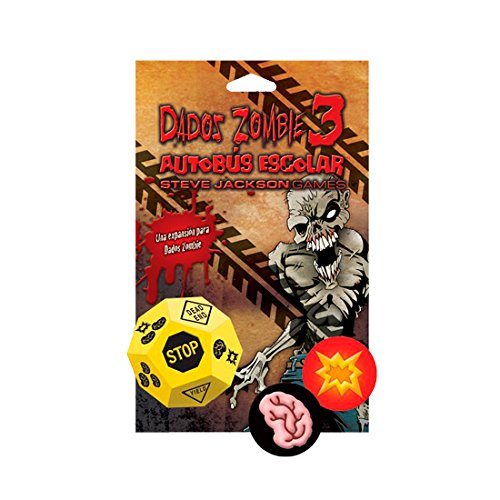 Edge Entertainment Dados Zombie - Juego de Mesa EDGSJ04