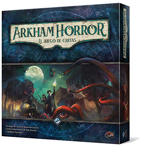 Fantasy Flight Games Arkham Horror: El Juego de Cartas de misterios arcanos y Terror Sobrenatural (Edge Entertainment EDGAHC01)