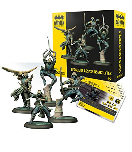 Knight Models Juego de Mesa - Batman Miniature Game: League of Assassins Acolytes
