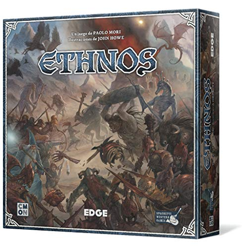 Edge Entertainment- Ethnos, Juego de Mesa (EECMET01)