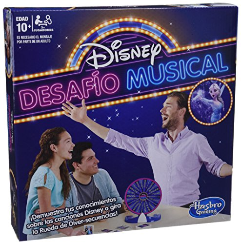 Hasbro Gaming- Disney Desafio Musical (E1872105)